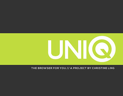 UNIQ | A Web Browser Concept