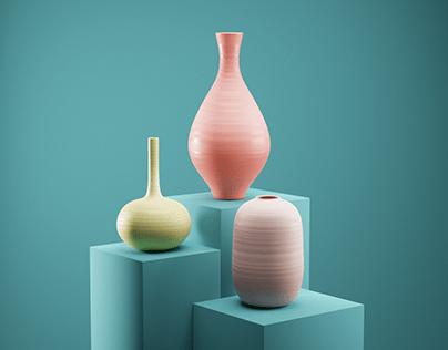 Ceramics - 3D Exploration