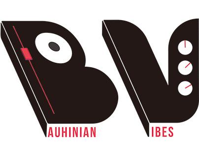 香港電音平台品牌標誌設計 Bauhinian VibesLOGO Design