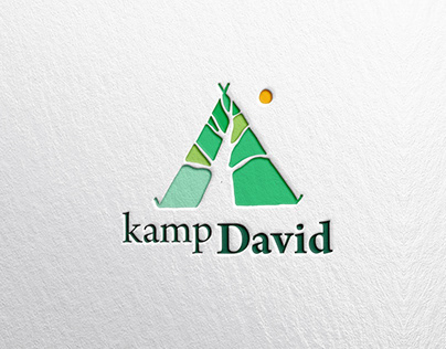 KAMP DAVID   identity design, promotionals, web