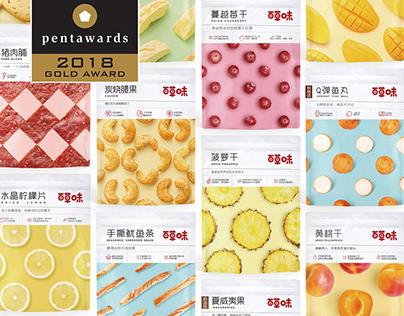 百草味品牌升级+全线包装升级