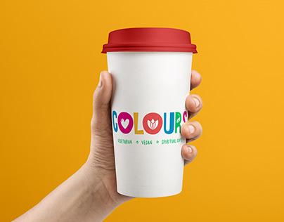 'Colours Café'   Brand Design