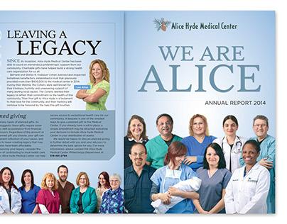 Alice Hyde Medical Center Annual Report