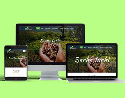 Diseño Página Web BIO CATA PERÚ