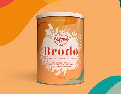 Edifors rebranding and packaging