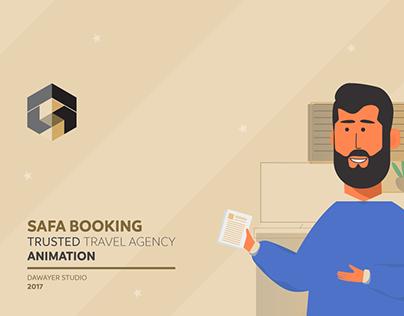 Safa Booking Animation