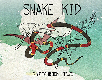 Snake Kid Sketchbook 2