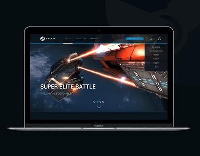 Steam Website redesign