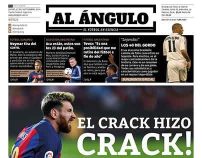 Periodico Al Angulo / Diseño editorial