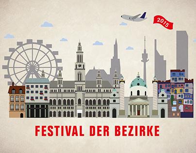 Vienna City Illustration