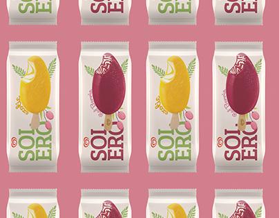 Solero Ice-Cream Rebrand
