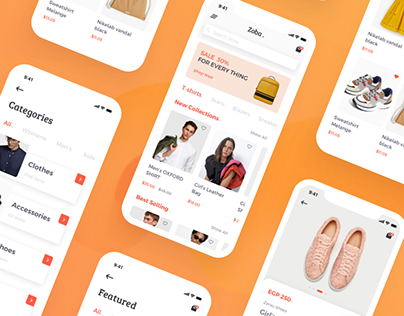 ZOBA E-commerce App