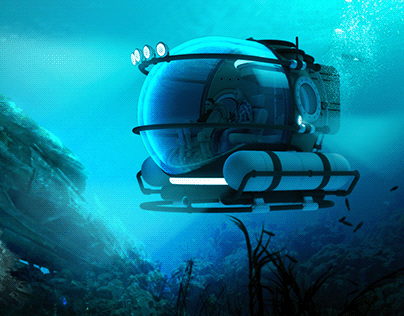 Manatee™ - Concept Submersible Vehicle