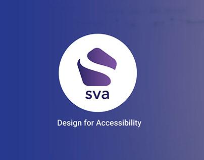 Service Design - Sva - Design for accessibility