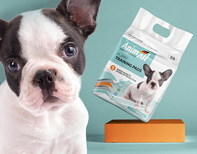 Puppy Training Pads - Packaging Design