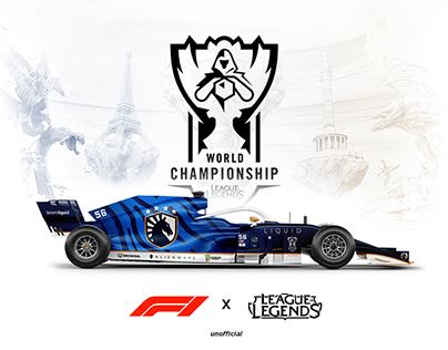 WORLD LOL 2019 - F1 liveries