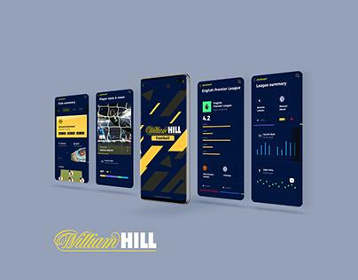 William Hill Football App