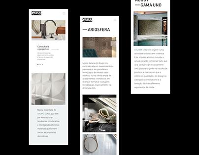 Gama Uno Website