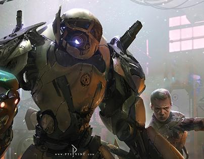 IA heritage- drone war