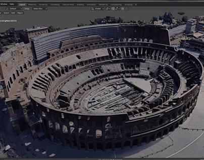 3D Google Maps Data In Blender