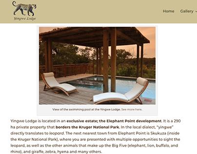 Blog Posts | Yingwe Lodge