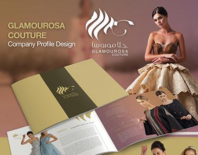 Glamourosa Couture Company Profile Design