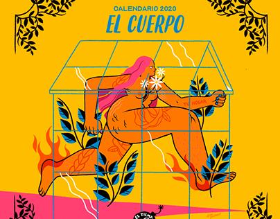 EL CUERPO - Calendario 2020