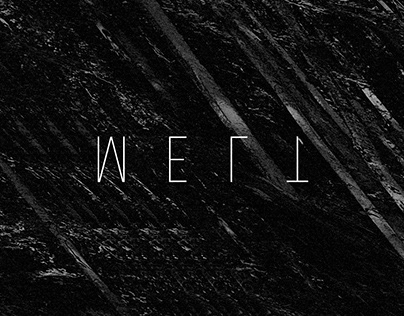 Melt1 - Record graphics and packaging