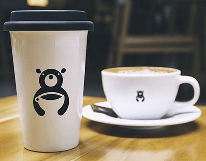 Free Logo | Bear Cafe Logo Design