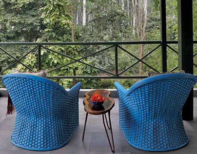 Property Styling- Jim's Jungle Retreat for ELLE DECOR