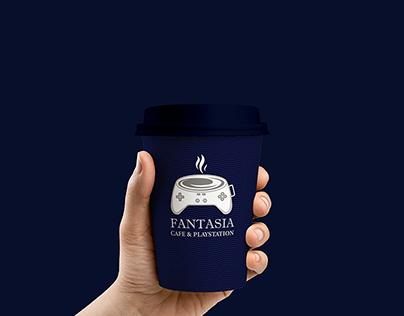 Fantasia Cafe & Playstation Logo