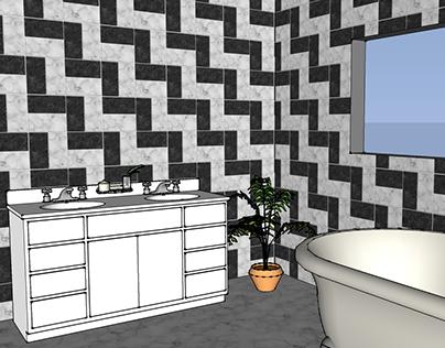 NYC Master Bath