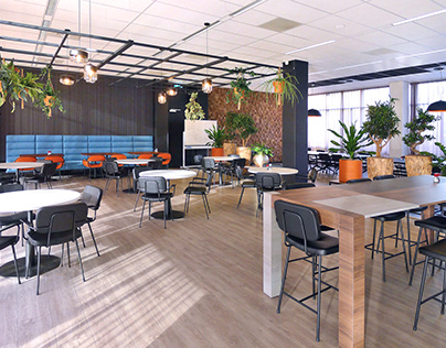 Office interior restyle, Gouda, the Netherlands