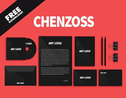 Chenzoss Business Identity Free Mockup