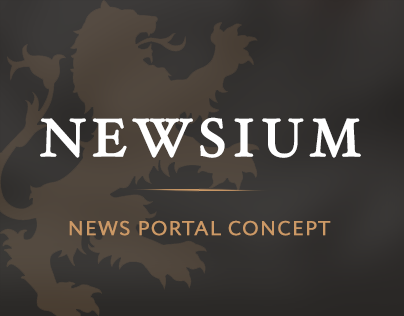 NEWSIUM — News portal concept