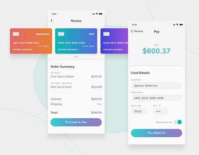 Daily UI Challenge 02 - Credit Card Checkout