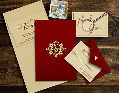 Exclusive Valentine Day Theme Wedding Invitations