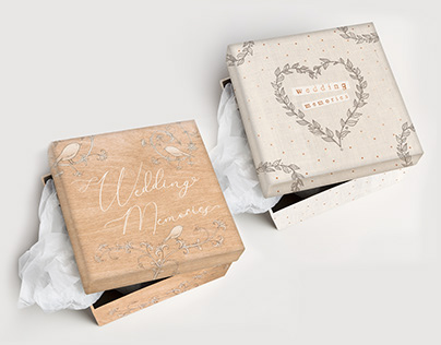 Heaven Sends / Wedding Memory Boxes