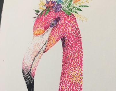 Do the flamingo