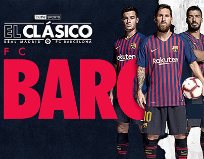 REAL MADRID VS BARCELONA - EL CLASICO 18-19 beIN SPORTS