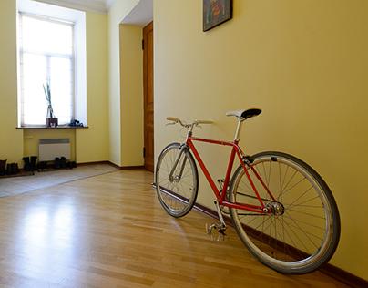 Apartment on Krivoarbatskiy pereulok (lane), Moscow.