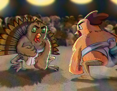 Sumo Cartoon