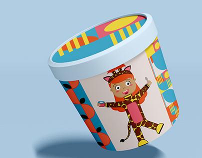 Ice cream character