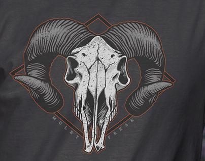 MF Skull Shirt Design