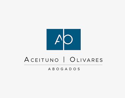 Identidad para firma de abogados Aceituno Olivares