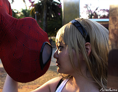 Fotoshooting - Spider Gwen and Spider-Man