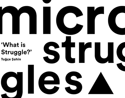 Research Project - Micro Struggles - Athens 2018