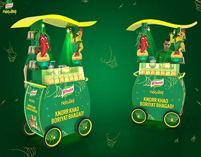 Knorr Noodles Cart Design