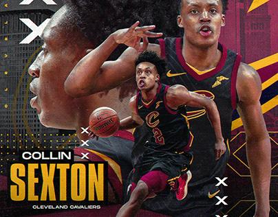 Nba Art | Collin Sexton | Cleveland Cavaliers