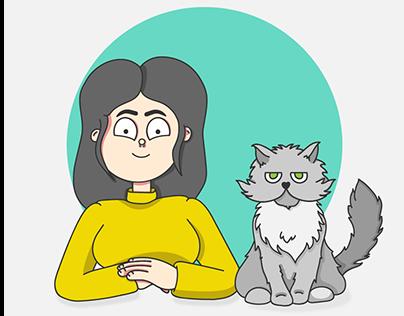 Nina Y Gato - Webcomics